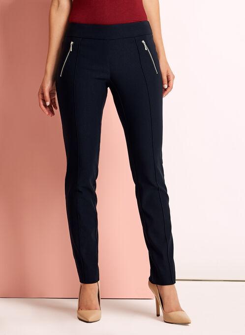 City Fit Slim Leg Pants