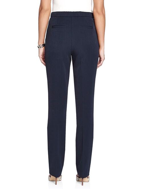 Modern Fit Tummy Control Straight Leg Pants, Blue, hi-res