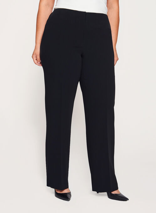Louben Straight Leg Pants, Black, hi-res