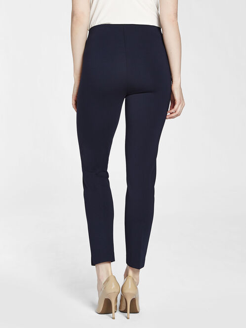 Solid Pull-On Leggings, Blue, hi-res