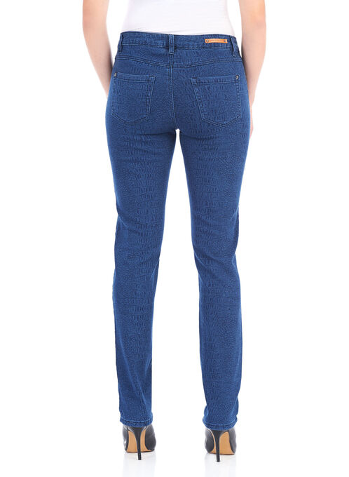 Simon Chang Straight Leg Pants , Blue, hi-res