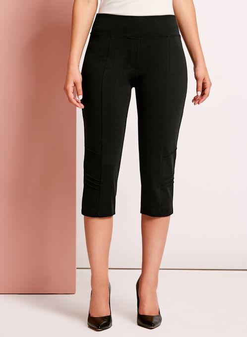 Picadilly - Pull-On Capri Pants, Black, hi-res
