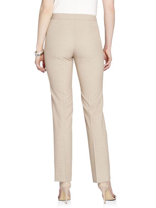 Modern Fit Waist Charm Straight Leg Pants, Off White, hi-res