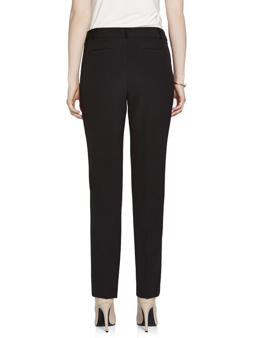 "Modern Fit 31"" Straight Leg Pants, Black, hi-res"