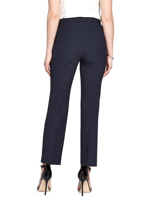 Signature Fit Waist Charm Straight Leg Pants, Blue, hi-res