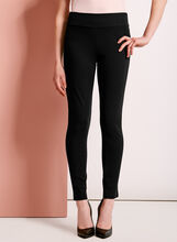 Ponte Leggings, Black, hi-res