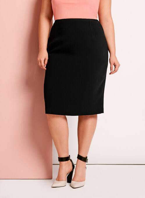 Louben Pencil Skirt, Black, hi-res