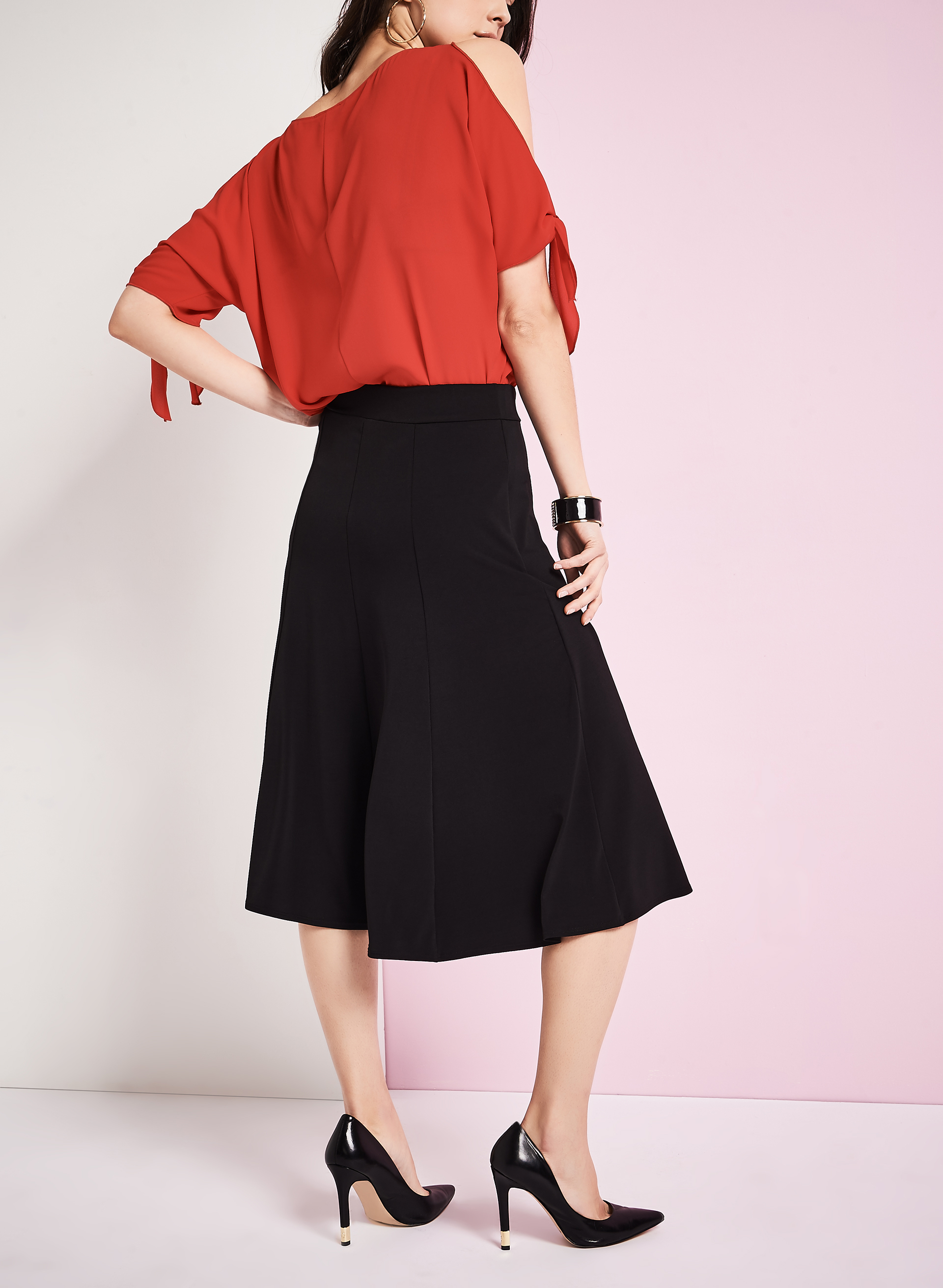 flared a line skirt free shipping
