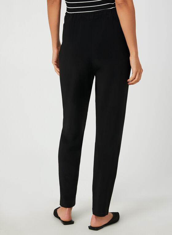 Modern Fit Drawstring Pants, Black, hi-res