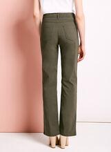 Simon Chang - Pantalon à jambe droite, Vert, hi-res
