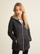 Lightweight Ethical Down Coat, Black