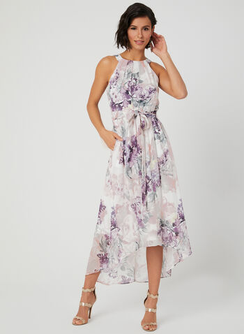 670a71874d Shimmer Chiffon Maxi Dress