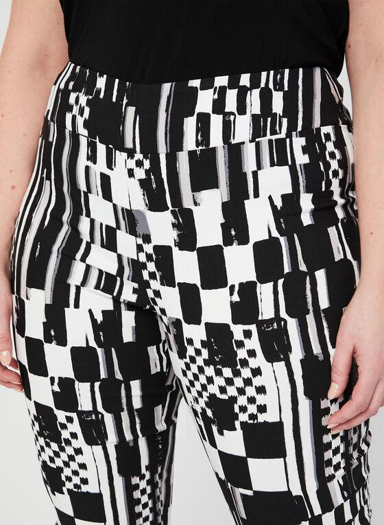 Joseph Ribkoff - Pantalon abstrait à jambe étroite, Noir
