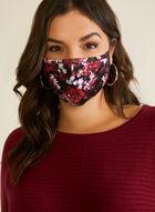 Floral Print Mask, Pink