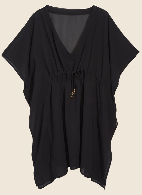 Echo - Chiffon Swimsuit Cover-Up, Black