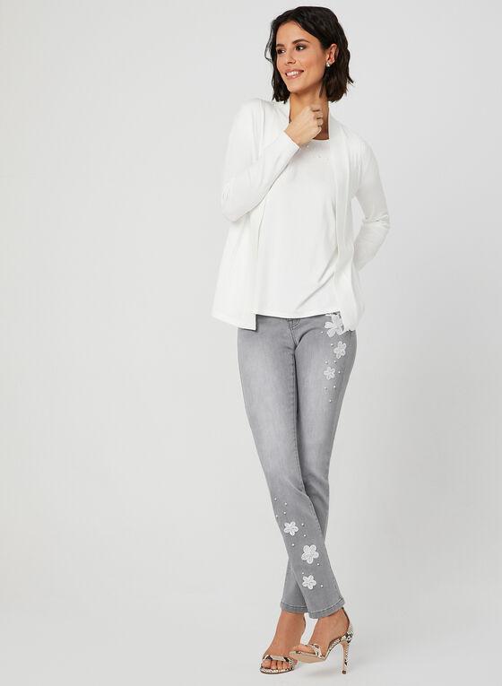 Signature Fit Straight Leg Jeans, Grey, hi-res