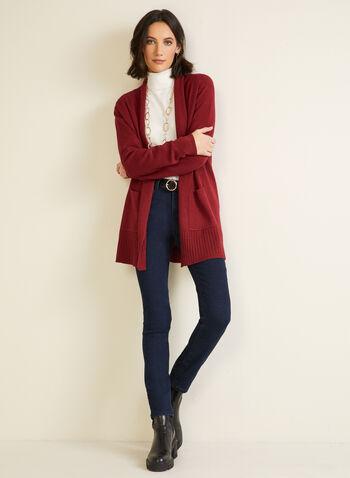 Essential Turtleneck Sweater, White,  fall winter 2020, turtleneck, sweater, warm, stretch, comfort, long sleeve, pointelle, topstitch