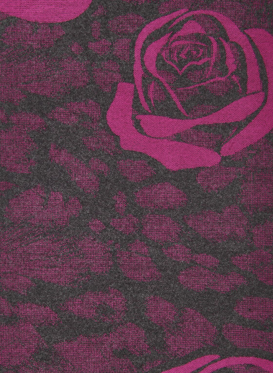 Foulard à motif de roses , Rose