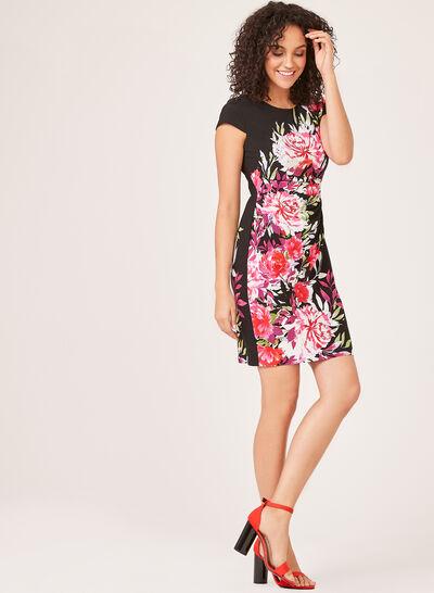 Floral Print Sheath Dress