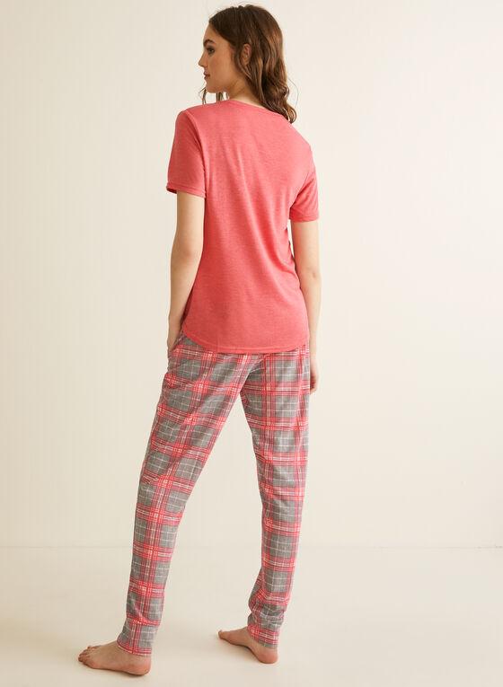 Comfort & Co. - Ensemble pyjama à t-shirt, Orange