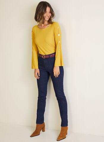 Straight Leg Jeans, Blue,  jeans, straight leg, fall winter 2020
