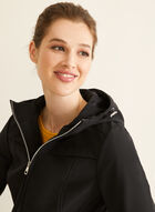 Novelti - Soft Shell Coat, Black