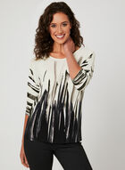 ¾ Dolman Sleeve Blouse, White, hi-res