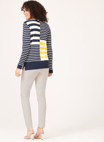 Nautical Inspired Knit, Blue, hi-res