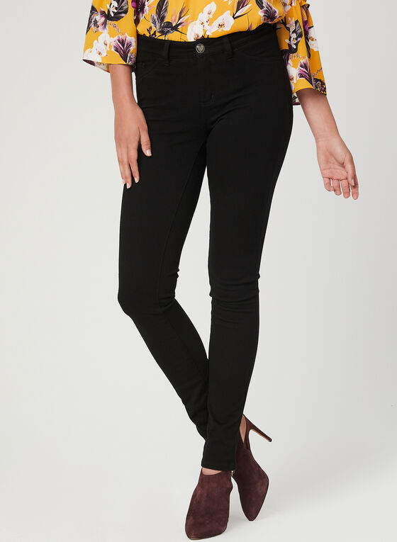 Love Premium Denim - Slim Leg Jeans, Black, hi-res