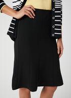 Gored Skirt, Black, hi-res