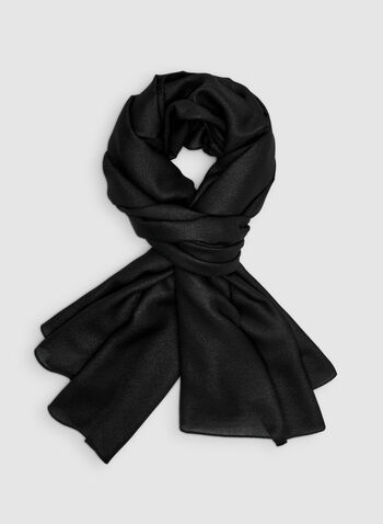 Pashmina Scarf, Black, hi-res,  lightweight, pashmina, fall 2019, winter 2019