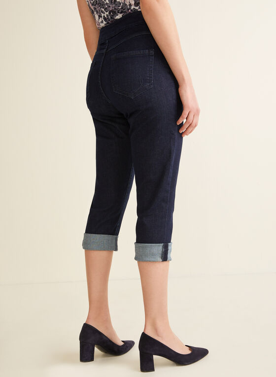 Carreli Jeans - Capri pull-on en denim, Bleu