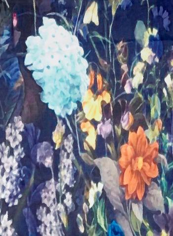 Wild Flower Print Scarf, , hi-res
