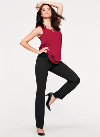 Signature Fit Straight Leg Pants, , hi-res