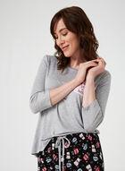 Pillow Talk - Two-Piece Pyjama Set, Grey