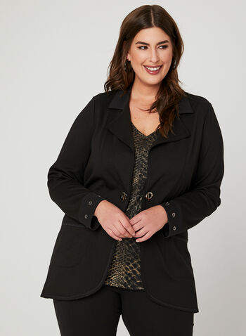 Picadilly - Duster Jacket, Black, hi-res