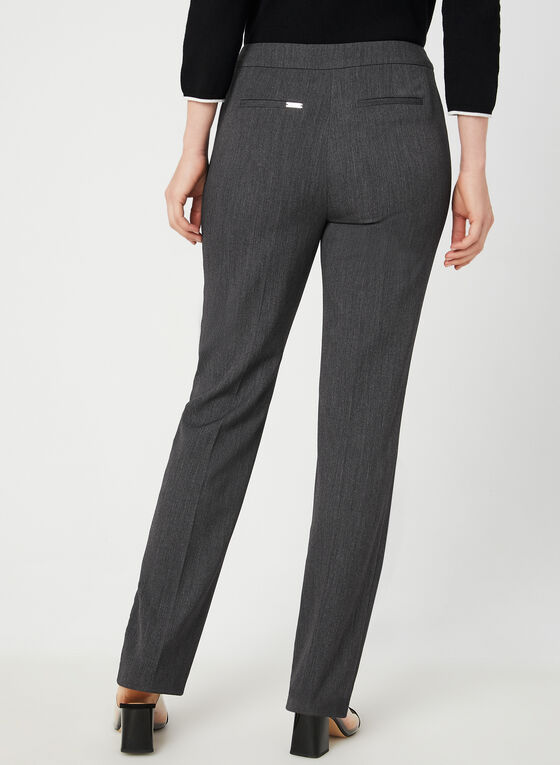 Modern Fit Straight Leg Pants, Grey