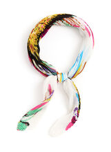 Floral Print Neckerchief, Multi, hi-res