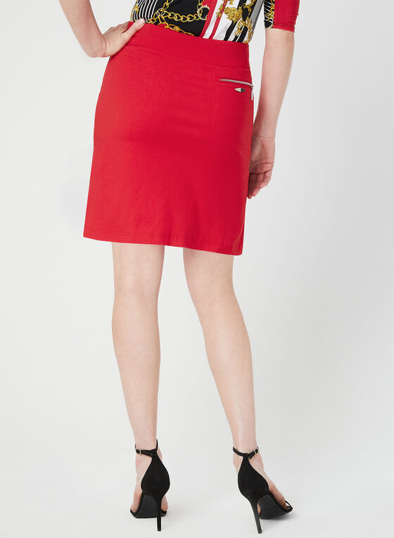Simon Chang - Microtwill Skort, Red