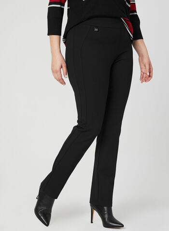 Simon Chang - Signature Fit Slim Leg Pants, Black, hi-res