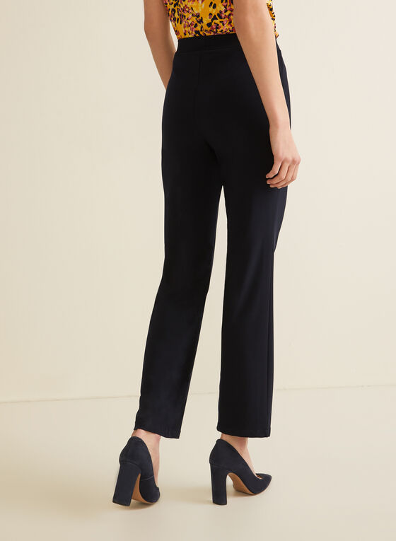 Modern Fit Straight Leg Pants, Blue
