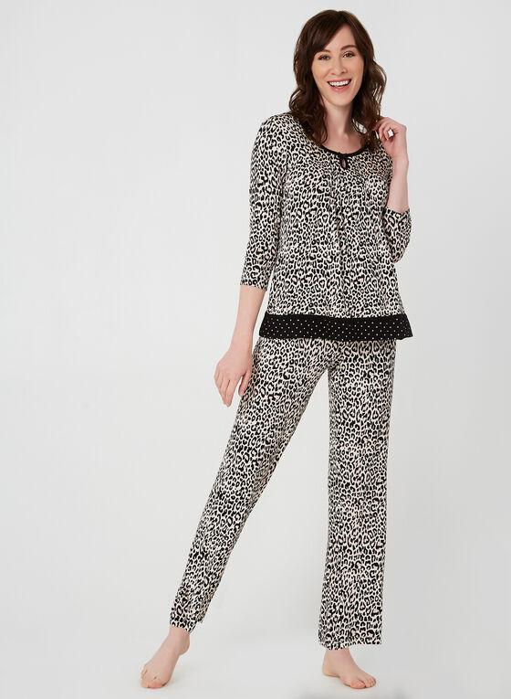 René Rofé - Two-Piece Pyjama Set, Brown