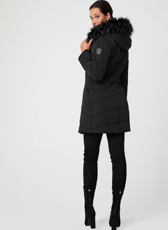 Northside - Feather Loft® Quilted Coat, Black, hi-res