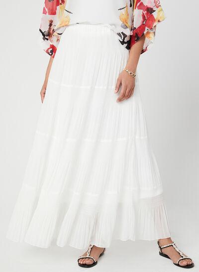 Alison Sheri - Tiered Maxi Skirt