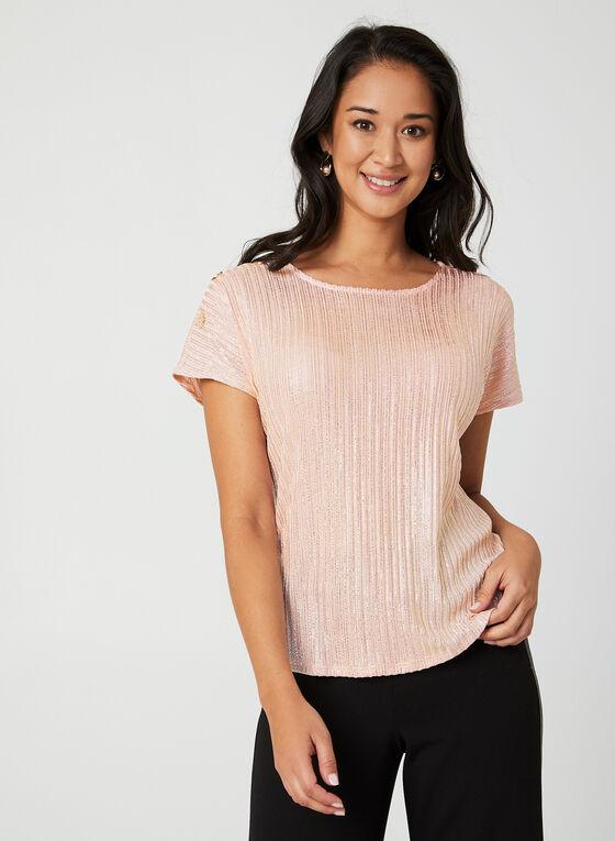 Drop Shoulder Knit Top, Multi