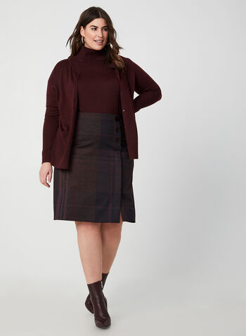 Wool Blend Sweater , Purple,  wool blend, cowl neck, fine knit, short sleeve, sweater, fall 2019, winter 2019