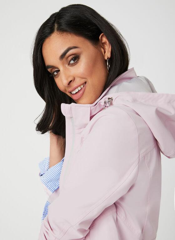 Water Resistant Raincoat, Pink, hi-res