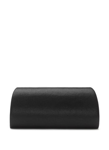 Crystal Embellished Flapover Clutch, , hi-res