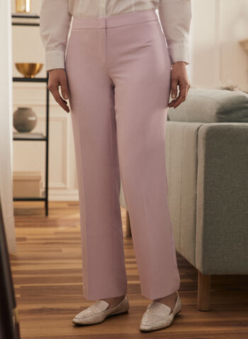 Modern Fit Wide-Leg Pant, Purple,  pants, modern fit pants, wide-leg, wide leg, spring 2020, summer 2020
