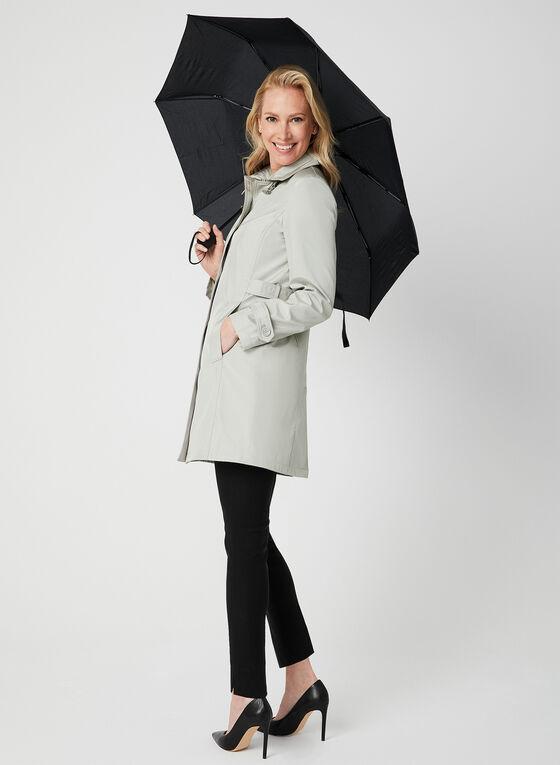 Imperméable satiné avec parapluie , Blanc cassé, hi-res